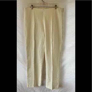 Chico's off white leggings size 16 R